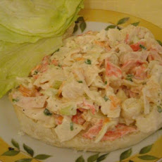 Crab Salad Sandwiches
