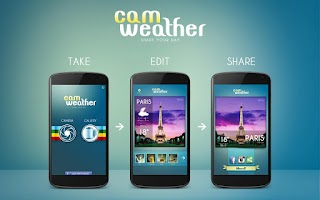 Screenshot of CamWeather