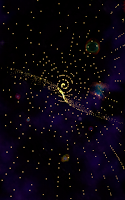 Screenshot of Interstellar Flight Visualizer