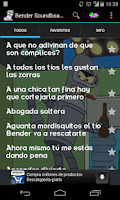 Screenshot of Bender Soundboard (Español)