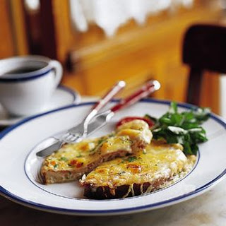Open-Faced Croque-Monsieur