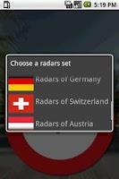 Screenshot of Radar Advisor