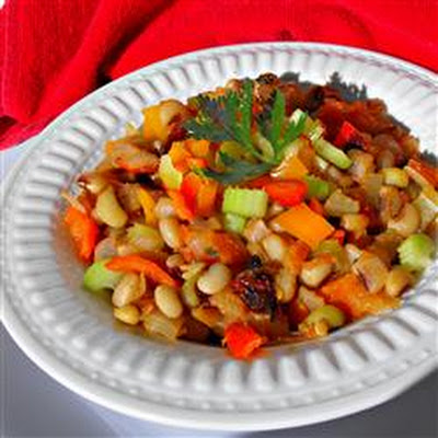 Spicy Chipotle Black-Eyed Peas