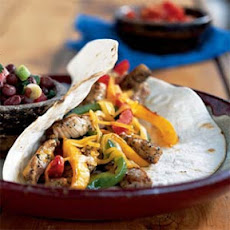 Spicy Pork-and-Bell Pepper Tacos