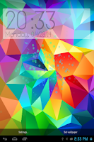 Screenshot of Galaxy S4/S5 Digital Clock LWP
