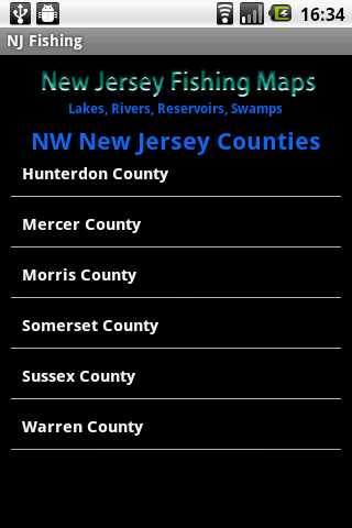 【免費運動App】New Jersey Fishing Maps - 4000-APP點子