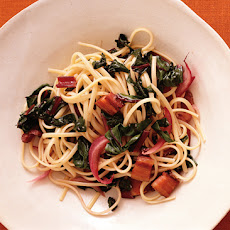 Bacon and Swiss Chard Pasta