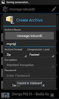 Screenshot of Unrar Zip Unzip - Extract Easy