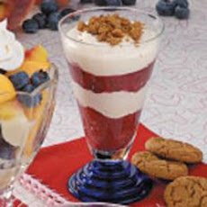 Rhubarb Gingersnap Parfaits