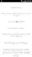 Screenshot of Fonts for FlipFont Love Fonts