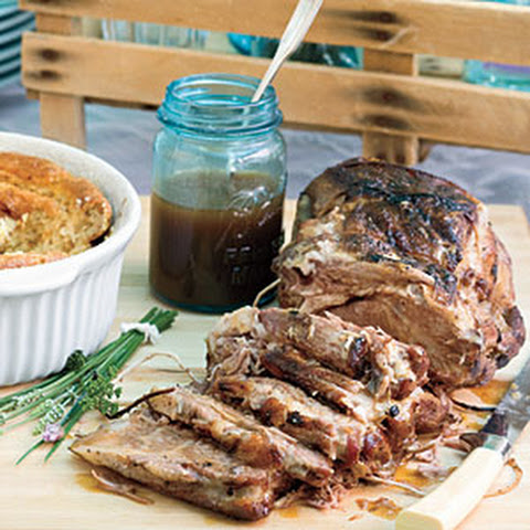 how to make gravy from pork roast