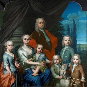 RIJKS: Frans Decker: painting 1738