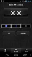 Screenshot of Sound Recorder Free