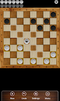 Screenshot of Russian checkers - Shashki