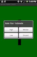 Screenshot of Scrum Poker Coach