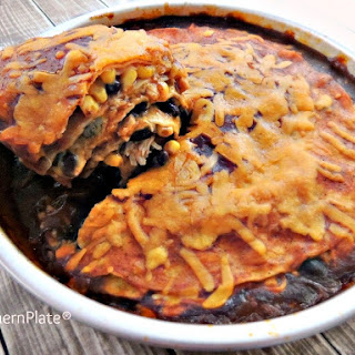 Enchilada Pie With Flour Tortillas Recipes