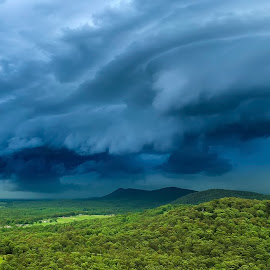 Wild Storm by Andrea Evans - Landscapes Weather ( landscape, storm )