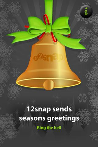 12snap Christmas Bell