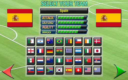 Gravity Football: World Cup