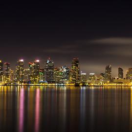 San Diego Bay by Scott Padgett - City,  Street & Park  Skylines (  )