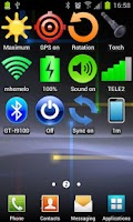 Screenshot of Widget Bluetooth