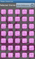 Screenshot of Pink Chill Go Launcher Ex