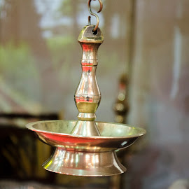 Traditional Lamp in Kerala by Ivon Murugesan - Artistic Objects Antiques ( artistic, india, kerala, artistic object, artistic objects, antique, photography, antiques )