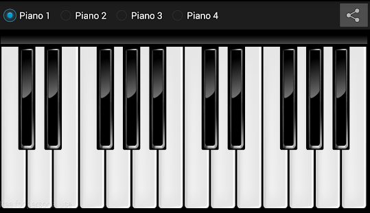Realistic Piano Free - screenshot