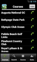 Screenshot of SkyDroid - Golf GPS