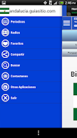 Screenshot of Andalusia Guia News and Radio