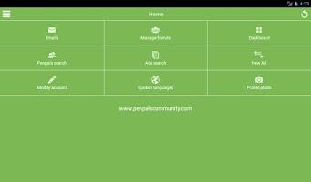 Screenshot of Penpalscommunity (official)