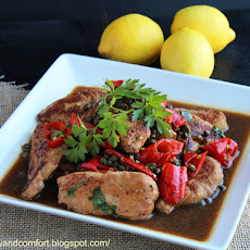 Spicy Turkey Piccata