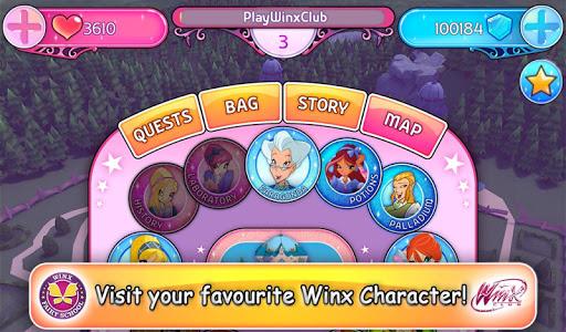 Winx Fairy School Lite - screenshot