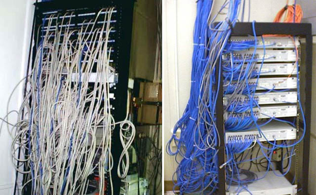 Mantener sus cables en orden for Cables pc galeria jardin