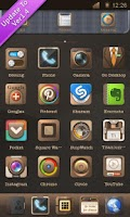 Screenshot of Classics GO LauncherEX Theme