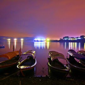 boat are waiting by Wawan Adi - Landscapes Waterscapes