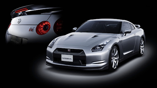 a brand-new R35 GT-R but