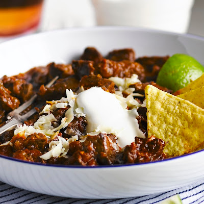 Bowl o' red Texan chilli