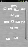 Screenshot of Refrigerator Poetry - Free