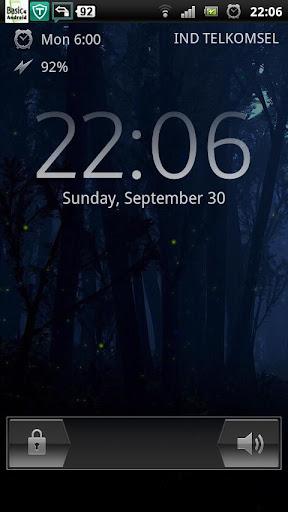 ホタルの森夜LWP