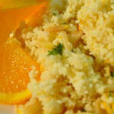 Almond Orange Couscous
