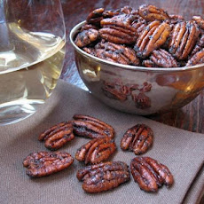 Toasted Chile Pecans