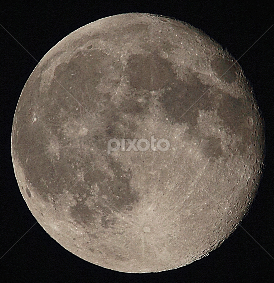 by Suann Vandewalker - Landscapes Starscapes ( moon,  )