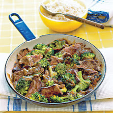 Orange Beef and Broccoli Stir-fry