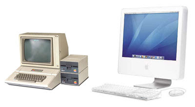 Apple II + iMac G5
