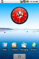 Screenshot of FC Twente Analoge Clock Widget
