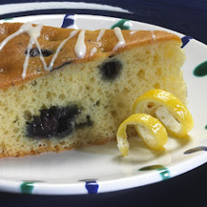 Glazed Lemon Blueberry Coffeecake