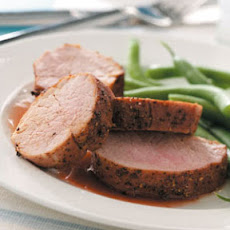 Cherry-Glazed Pork Tenderloin Recipe