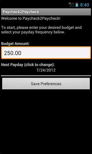 Paycheck2Paycheck Free