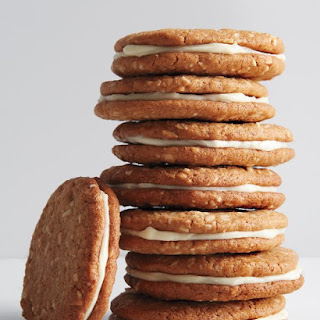 Whole-Wheat Almond-Butter Sandwich Cookies